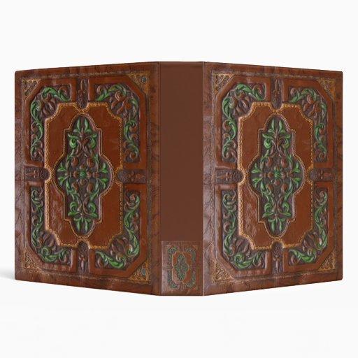 Embossed Leather Look ~ binder