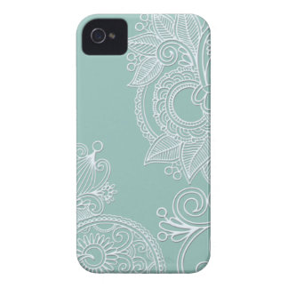 Embossed Paisley iPhone 4s Case