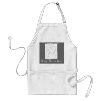 Embrace (baby shower) Add your own color Standard Apron