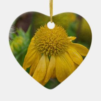 Embrace Ceramic Heart Ornament