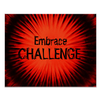 Embrace Challenge Poster