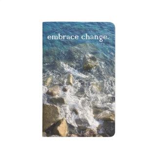 Embrace Change Notbook Journal