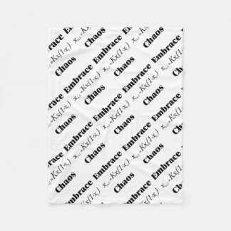 Embrace Chaos Fleece Blanket
