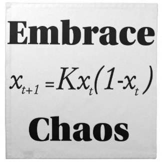Embrace Chaos Napkin