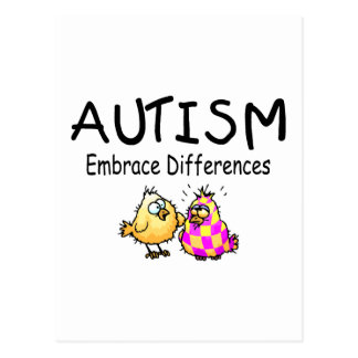 Embrace Differences (PY) Postcard