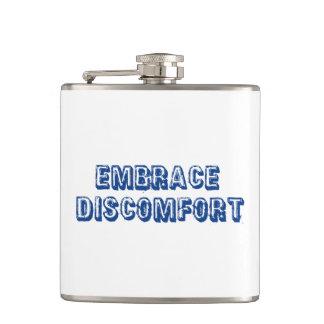 Embrace Discomfort Hip Flask