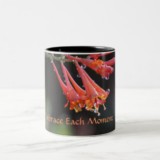 Embrace Each Moment Two-Tone Coffee Mug