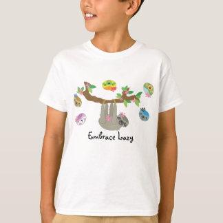 Embrace Lazy - Boy's Casual Shirt