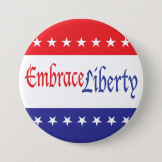 Embrace Liberty 3 Inch Round Button