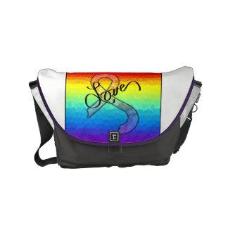 Embrace Love Messenger Bag