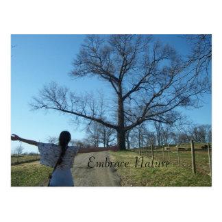 Embrace Nature Postcard