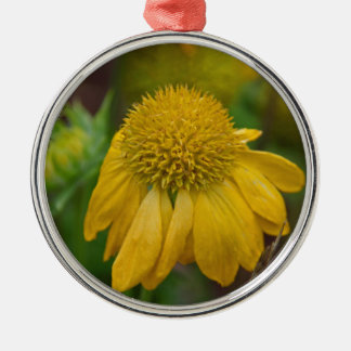 Embrace Silver-Colored Round Ornament