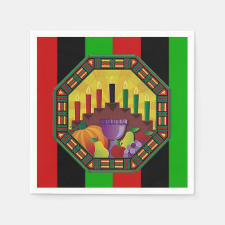 Embrace The Culture Kwanzaa Party Paper Napkins