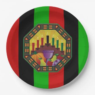 Embrace The Culture Kwanzaa Party Paper Plates
