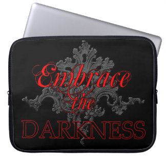 Embrace the Darkness Laptop Sleeve