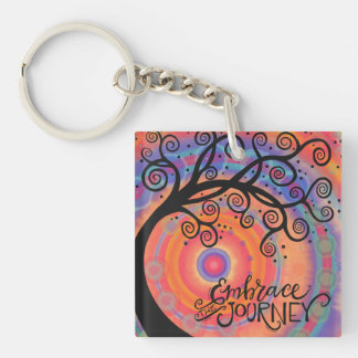 Embrace the Journey Keychain