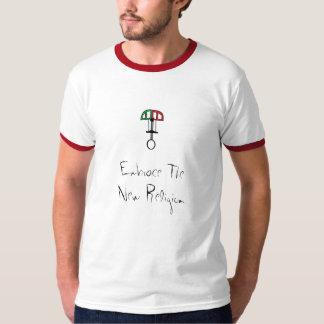 embrace the new religion (climbing cam) T-Shirt