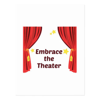 Embrace the Theater Postcard
