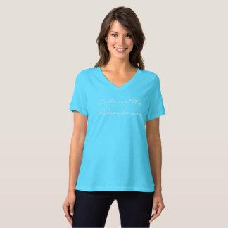 Embrace Women's V Neck Shirt