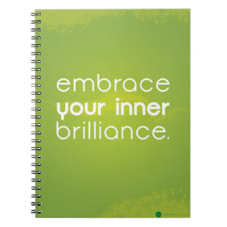 Embrace Your Inner Brilliance Notebook