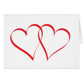 Embracing Hearts Card