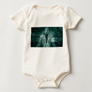 Embracing New Technology of the Future as Art Baby Bodysuit