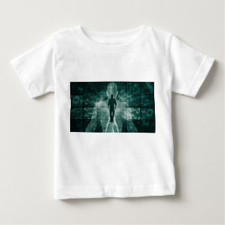 Embracing New Technology of the Future as Art Baby T-Shirt