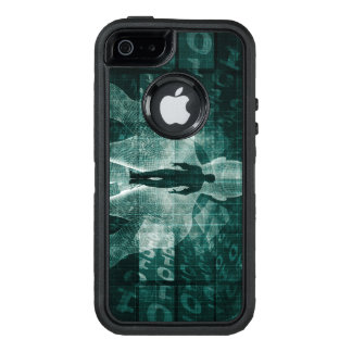 Embracing New Technology of the Future as Art OtterBox Defender iPhone Case
