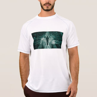 Embracing New Technology of the Future as Art T-Shirt
