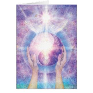 Embracing Yin Yang Card