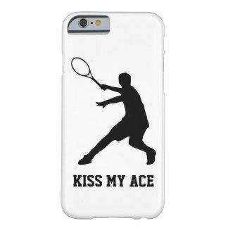 EMBRASSEZ MA couverture de téléphone de tennis de Coque iPhone 6 Barely There