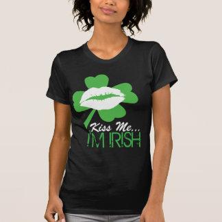 Embrassez-moi que je suis irlandais t shirt