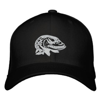 Embroider Mad Musky Logo BASEBALL HAT Embroidered Baseball Cap