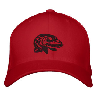 Embroider Mad Musky Logo -MuskyFreak Embroidered Hats