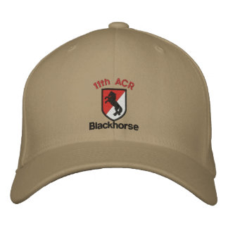 Embroidered 11th Acr Hat