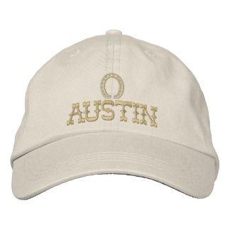 Embroidered Austin Texas Cap