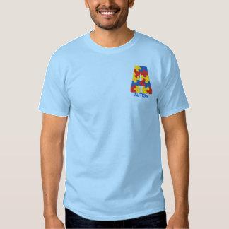 Embroidered Autism Awareness T-shirt