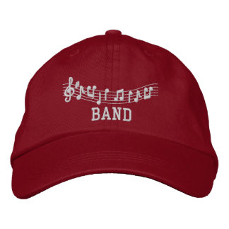 Embroidered Band Cap