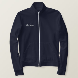 Embroidered Baritone Singer Jacket