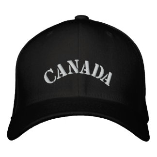 embroidered CANADA hat Embroidered Hats