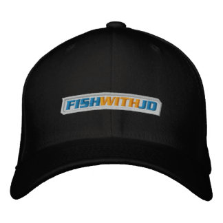 Embroidered Cap (Black) Embroidered Hat
