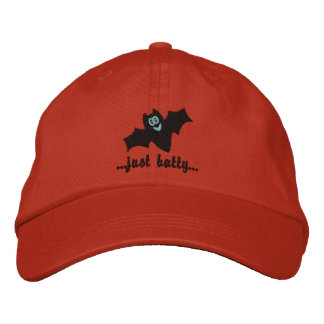 Embroidered Cap for Halloween