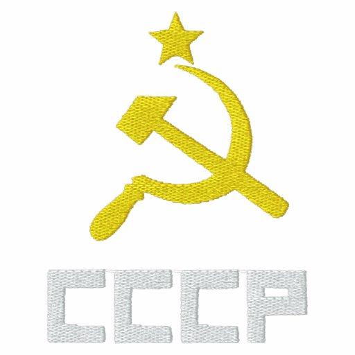 Embroidered CCCP Women T-Shirt