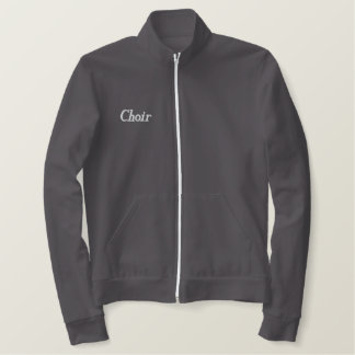 Embroidered Choir Music Jacket