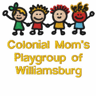 Embroidered Colonial Mom s Member T-Shirt