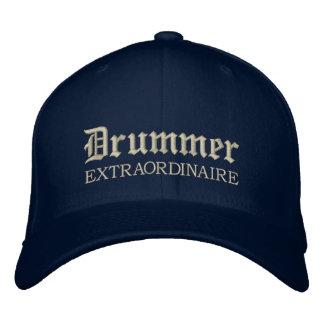 Embroidered Drummer Extraordinaire Music Cap