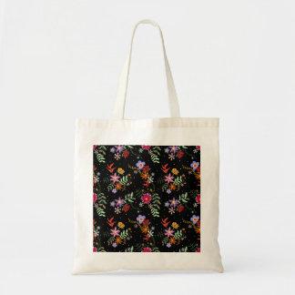 Embroidered Ecobag Folk Tote Bag