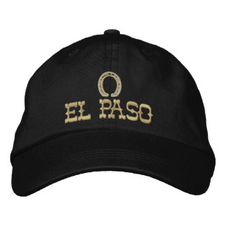Embroidered El Paso Cap Embroidered Baseball Cap