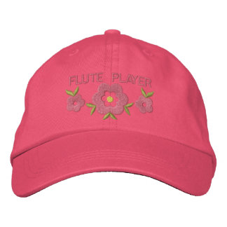 Embroidered Flute Cap