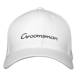 EMBROIDERED GROOM WEDDING CAP EMBROIDERED BASEBALL CAP